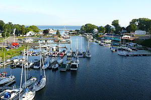Olcott, New York - Olcott Beach marina