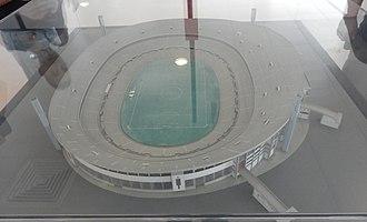 Estádio da Luz (1954) - A model of Estádio da Luz