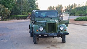 Old jeep, at Sariwon DPRK (14015033988).jpg