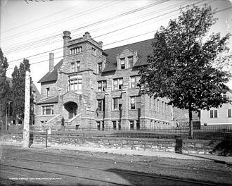 Finlandia University - Old Main, between 1900 and 1906