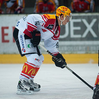 Oliver Setzinger Austrian ice hockey player