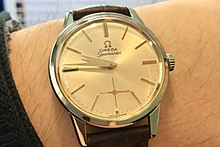 5d0d27a5794 Omega Seamaster (1960). Champagne dial