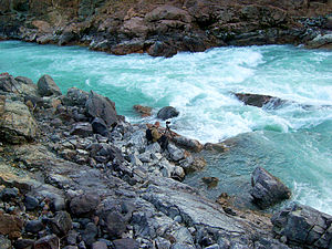 Chilcotin River - Chilcotin in Farwell Canyon