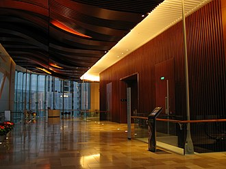 One Island East - Image: One Island East 1F Grand Lobby
