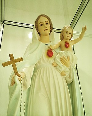 Sanctuary of Our Lady of Graces of Onuva - The Our Lady of Graces of Onuva with Child Jesus.