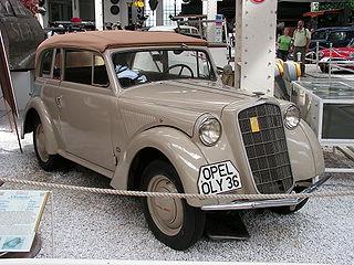 Opel Olympia Motor vehicle