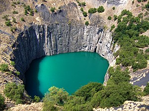 Diamond (gemstone) - The Big Hole.