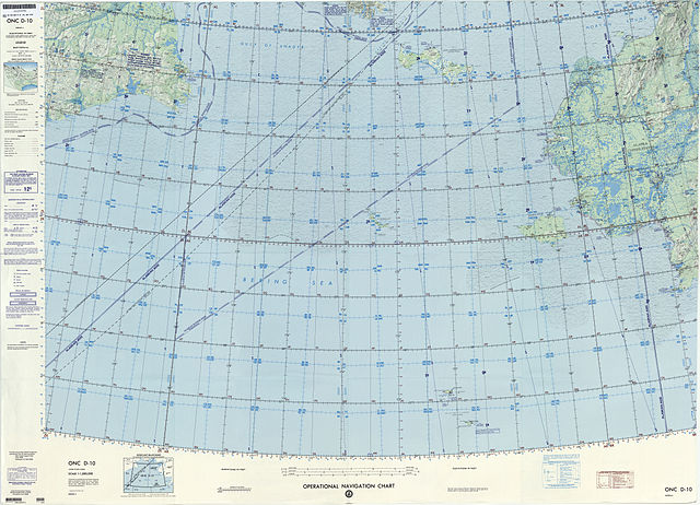 Aviation Charts: Operational Navigation chart D-10 4th edition.jpg ,Chart