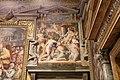 Orazio samacchini, Ottone I restituisce i territori della Chiesa a papa Agapito II, 1564-65, 02.jpg