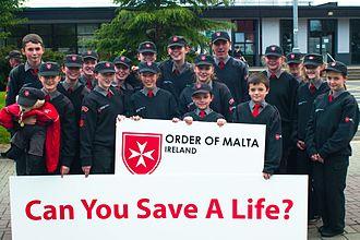 Order of Malta Ambulance Corps - Cadets