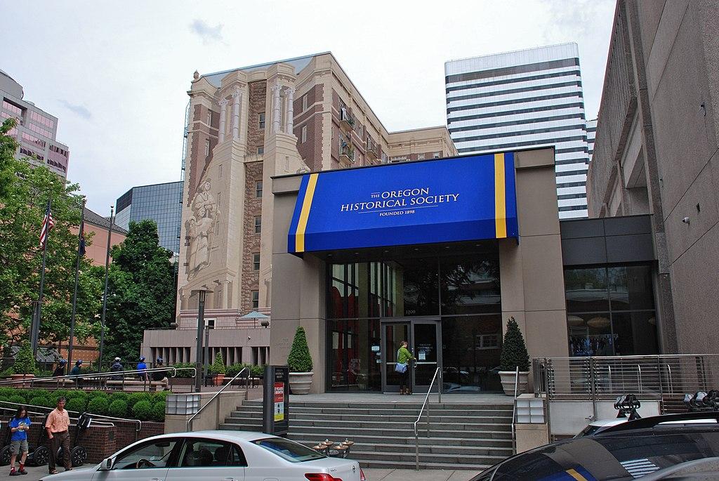 Oregon Historical Society entrance 2014