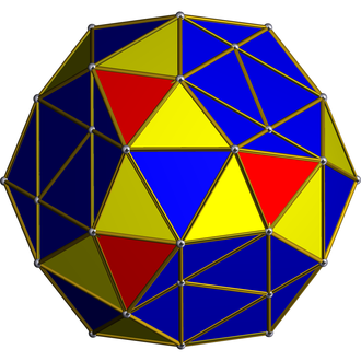 Snub (geometry) - Orthogonal projection of snub 24-cell