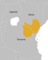 Oryx callotis distribution map-de.png