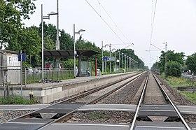 Blick auf Gleis 2