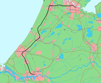 Amsterdam–Haarlem–Rotterdam railway - Image: Oude Lijn
