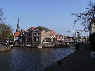 Oudewater - Image: Oudewater, stadszicht met kerk 2 2009 04 13 16.53