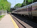 Outbound train at Chelsea station, May 2012.JPG