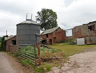 Orway - Outbuildings at Orway Farm