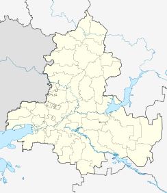 Azov is located in Rostov Oblast