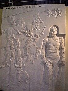 Bolivar, Padre Libertador. Bicentenario - Página 12 220px-P%C3%A1ez_sculpture_-_National_Pantheon