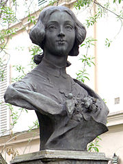Bust of Clotilde de Vaux