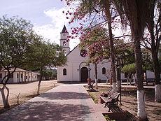 Vista parcial de Charagua