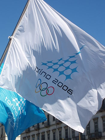 Flag of Turin 2006 Winter Olympics