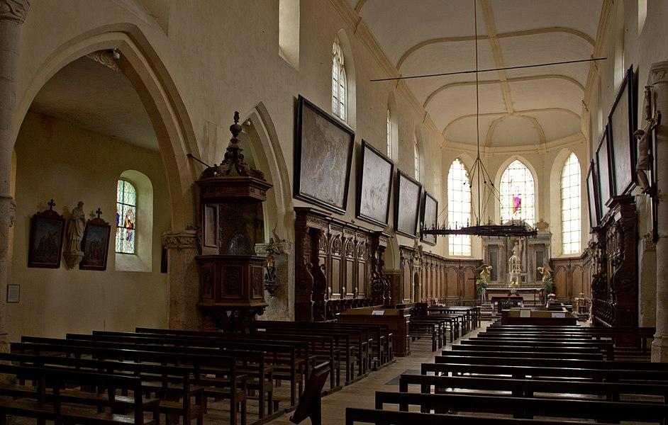 Église d'Abbaye Saint-Pierre d'Hautvillers