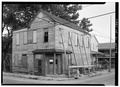 PERSPECTIVE VIEW OF SOUTH (FRONT) AND EAST SIDE - 14 Amhearst Street, Charleston, Charleston County, SC HABS SC,10-CHAR,338-2.tif