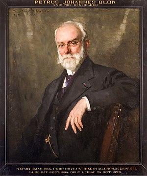 Petrus Johannes Blok