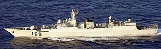 Type 052B destroyer - PLANS Wuhan (169)