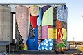 PUBLIC 2015 Northam Silos site-specific mural installation on the CBH Group grain silos curated by FORM funded by FORM and CBH Group in Northam Western Australia by HENSE 2 of 2.jpg