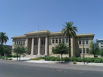 National Register of Historic Places listings in Phoenix, Arizona - Image: PX Adams School 1924