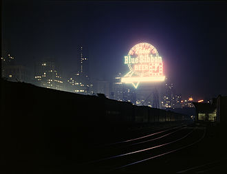 Farm Security Administration - Photograph of Chicago's rail yards by Jack Delano, ca. 1943