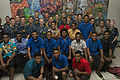 Pacific Fleet Band play for the public in Suva, Fiji, during Pacific Partnership 2015 150607-N-PZ713-226.jpg