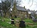 Padiham Parish Church Cemetery, Chapel - geograph.org.uk - 755036.jpg