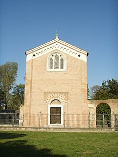 chapel in Padua famous for its frescos by Giotto