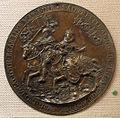 Paesi bassi, impronta del sigillo di alberto arciduca d'austria e isabella infanta di spagna, 1590-1610 ca..JPG