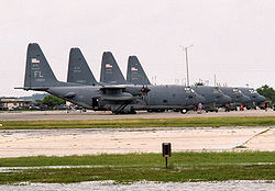 HC-130 Hercules of the 920th Rescue Wing based at Patrick AFB.