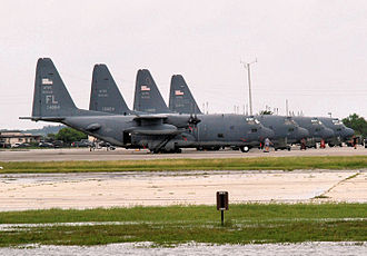 Patrick Air Force Base - HC-130s of the 920th Rescue Wing (920 RQW) at their home station of Patrick AFB