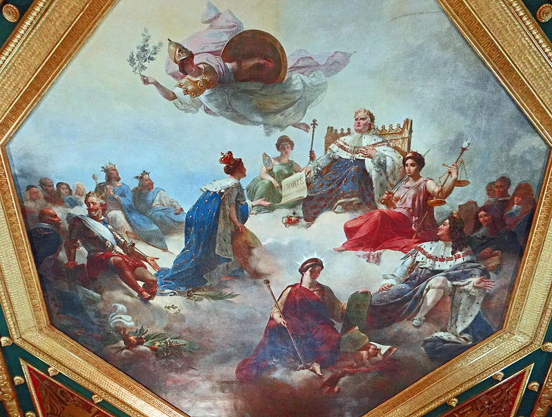 Palais du Louvre - Conseil d'État - 'Salle des Séances -1.JPG