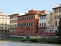 Palazzo capponi-vettori e palazzo coverelli visti dal fiume, 01.JPG