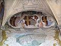 Palazzo di san clemente, int., primo piano, loggetta 07 stemmi guadagni, cavalcanti, rucellai, tornabuoni.JPG