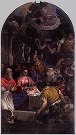 Paolo Veronese - Adoration of the Shepherds - WGA24845.jpg