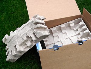 Cushioning - Molded pulp cushioning