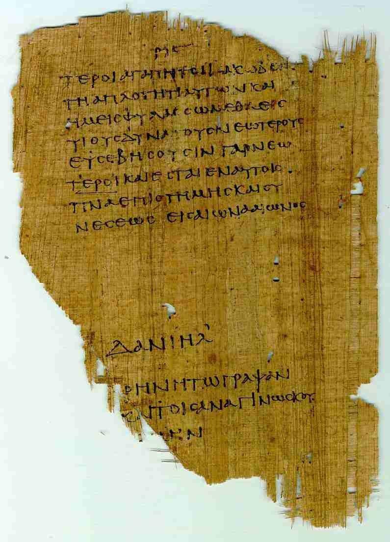 Papyrus 967