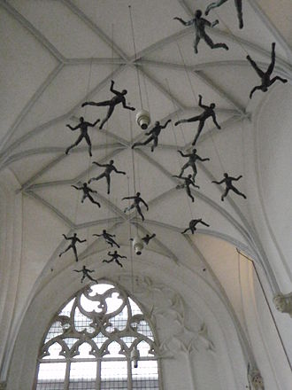 St Eusebius' Church, Arnhem - Paratrooper memorial inside church