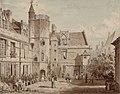 Paris, hôtel de Cluny, rue Du Sommerard, 1829.jpg