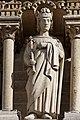 Paris - Cathédrale Notre-Dame -Galerie des rois - PA00086250 - 019.jpg