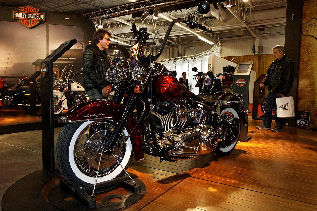 Harley Davidson Paris France T Shirt